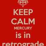 Ретроградный Меркурий с 17.09.2015 по 9 октября